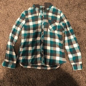 Empyre hooded flannel shirt